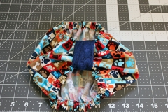 Cotton Snood $12.00: Size medium. bowtie style. Will fit most Cavaliers between 11-15lbs